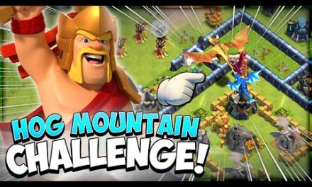 Easily 3 Star the Hog Mountain Challenge in Clash of Clans