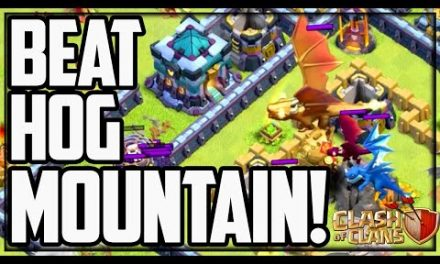 HOW TO Beat Hog Mountain in Clash of Clans! (SPOILER)