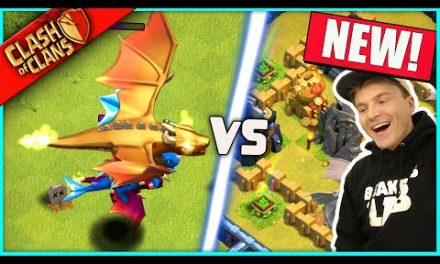 """…IT'S HERE!!! ▶️ Clash of Clans ◀️ IMMORTAL GOLDEN DRAGON """"HOG MOUNTAIN CHALLENGE"""""""
