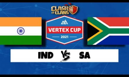 India Vs South Africa – Vertex Cup | #clashofclan #coc #cocattacks