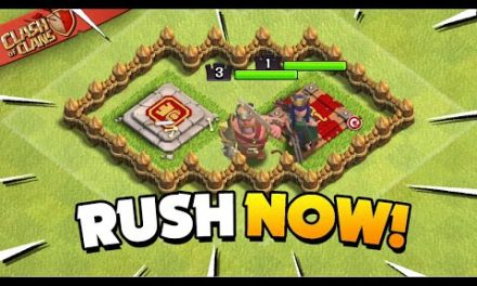 Why You Should Rush Your Base (Clash of Clans)