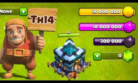 Preparing For Incoming Th14 New Update In Clash Of Clans…
