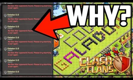 NO ONE Wants to BATTLE ME! 1v10 Clash of Clans Clan WAR!