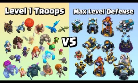 Level 1 Troops VS Max Level Defense | Impossible Challenge | Clash of Clans