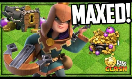 She's BACK and She's MAXED! Gold Pass Clash of Clans!