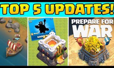Die 5 größten Updates in Clash of Clans! 😎