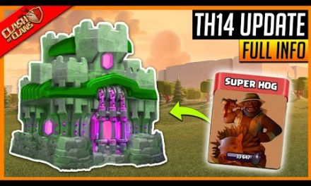Coc 2021 Update – New Town Hall 14 (TH14) Details Clash of Clans!