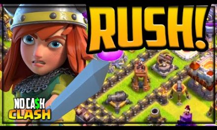 FORCED to RUSH in Clash of Clans! No Cash Clash #180