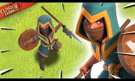 New Rogue Champion Hero Skin for Clash of Clans!