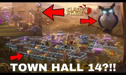 SUPERCELL HÉ LỘ TOWN HALL 14  UPDATE Clash of clans | Akari Gaming