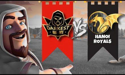 Darkest MuZhan vs Hanoi Royals | EYG CUP | #clashofclans #coc #mobilegaming