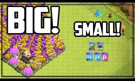 HUGE Raids with SMALL Armies! Clash of Clans Gold Pass Clash