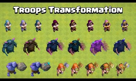 All Troops Transformation at every level | Clash of Clans