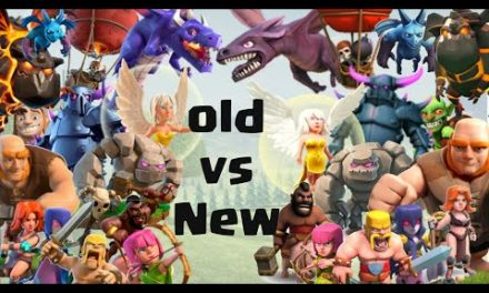 Old Coc Vs New Coc Troops   Clash of Clans 2012 – 2020