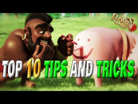 Top 10 TIPS and TRICKS of Clash of Clans | UNIQUE Tips and Tricks Part- #22 | Shahzex | (COC)