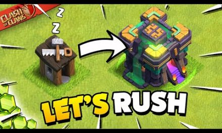 Rushing My Inactive Base to TH14 – Spending Spree on the Update (Clash of Clans)