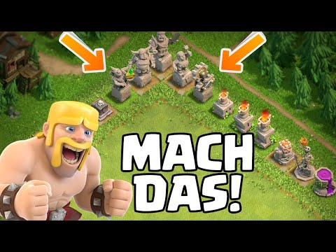 7 Dinge in Clash of Clans…die du tun solltest! 😎