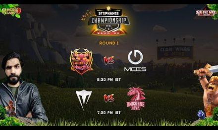 SC 21 WARM UP ROUND 1 , MCES VS AS MONSTER AND UNICORN OF LOVE VS VANGUARD  GAMING | Clash of Clans