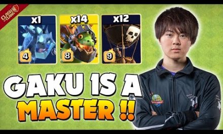 GAKU mastered THE fastest 3 star army in Clash of Clans