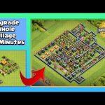 Whole Village Time-Lapse   Clash of Clans