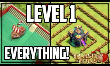 Level 1 TH14 Sets NEW RECORDS in Clash of Clans!