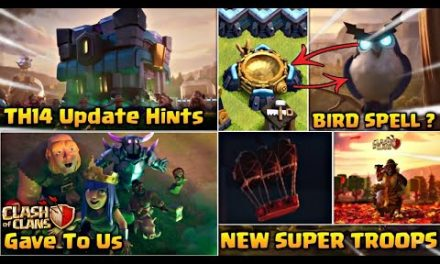 Townhall 14 Hints Given By Clash of Clans…Coc Th14 Update Details ,Coc New Super Troops etc…