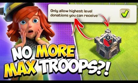 Major Update Change to Clan Castle Requests in Clash of Clans