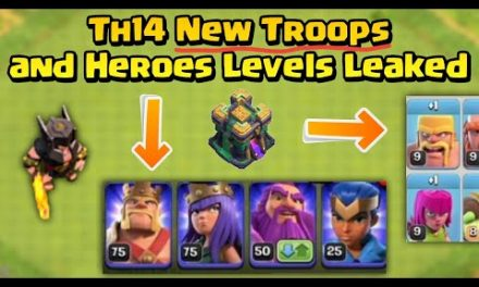 Clash of Clans tow hall 14 Update   new troops and heroes levels   coc April update 2021