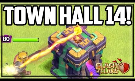 TOWN HALL 14 Reveal + Gameplay! Clash of Clans UPDATE!