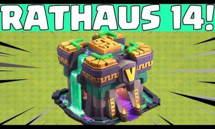 RATHAUS 14! 😍😍 Clash of Clans Update 2021 * CoC [deutsch/german]