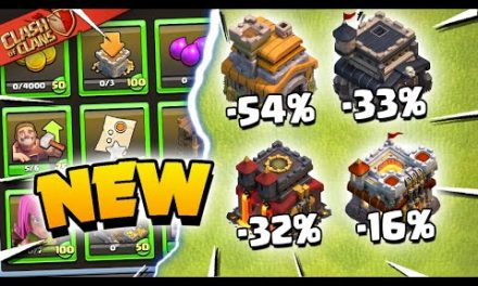New Starter Challenges and HUGE Reductions – Clash of Clans Update Sneak Peek 2!