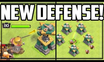 NEW DEFENSES! Builders REPAIR! Clash of Clans Town Hall 14 UPDATE!