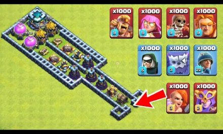 New Clash of Clans Trap VS Troops | New Super Troops VS Easy Trap On COC
