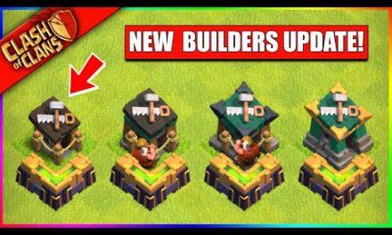 …UPGRADE YOUR BUILDER HUTS IN CLASH OF CLANS!! (BATTLE BUILDER UPDATE)