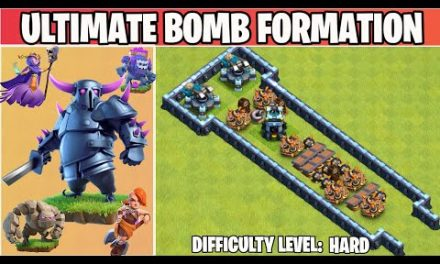 Ultimate Bomb Base Formation   Clash of clans TH14 Update