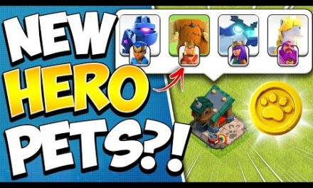 New Hero Pets Explained! New Troops in Clash of Clans TH 14 Update!