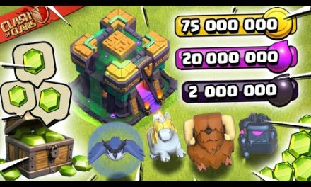 We Got Town Hall 14!! Spending Spree on the Update (Clash of Clans)