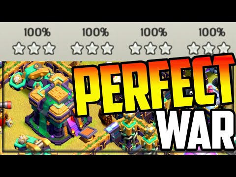 The PERFECT CWL in Champion 1! Clash of Clans World Champions