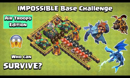 IMPOSSIBLE Base Challenge Air Troops Edition | Clash of Clans | Town Hall 14 Challenge