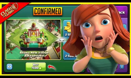 New Update – Scenery Coming for Gems Purchase! (Hints) in Clash of Clans!