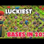 Luckiest Bases in Clash of Clans History  Top 5 luckiest Bases in Coc 2021 {EP-05}