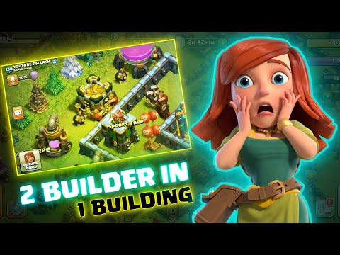 How 2 Builder Upgrading 1 Building in My Village ( Clash of Clans )