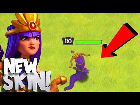 """New Medusa """"Snake skin"""" Queen skin! """"Clash Of Clans"""""""