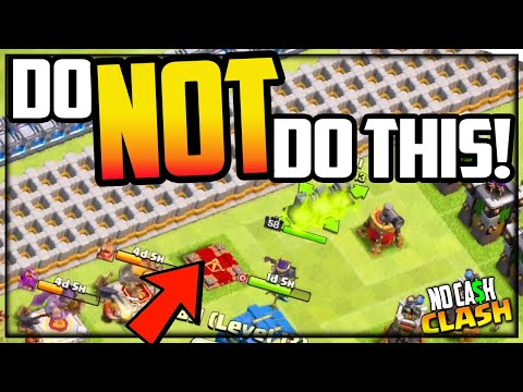 DO NOT Make THIS Mistake in Clash of Clans! No Cash Clash #190