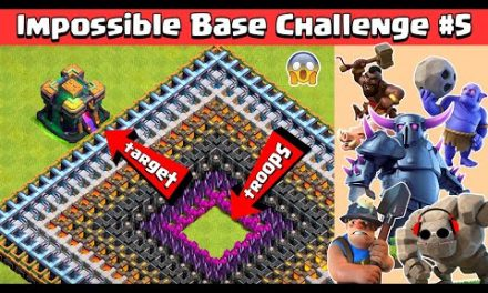 TOWN HALL 14 GIGA INFERNO IMPOSSIBLE BASE CHALLENGE #5   CLASH OF CLANS
