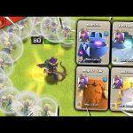 Queen Walk Attacks with Every Pet in Clash of Clans!