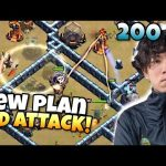KLAUS changed his PLAN MID ATTACK when things went WRONG! Clash of Clans eSports