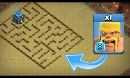 ONE TROOP vs LEVEL 1 MAZE BASE!! – Clash Of Clans