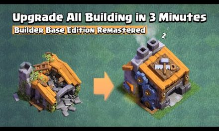 Upgrade All Builder Base Building in 3 Minutes | Clash of Clans