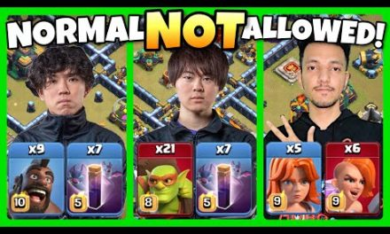 'NORMAL' attacks are NOT ALLOWED! Who did it BEST?! Clash of Clans eSports
